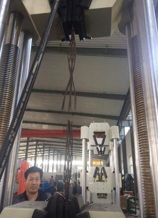 钢丝绳、钢绞线、汽车冲压件之液压万能试验机选型