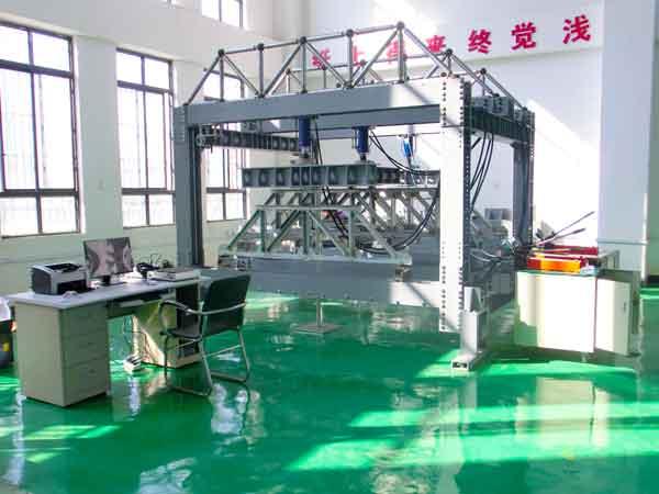 电液伺服四通道振动试验台适用于汽车底盘、悬架等