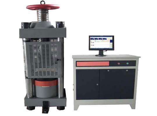 电液伺服烧结砖抗压强度试验机使用的相关步骤