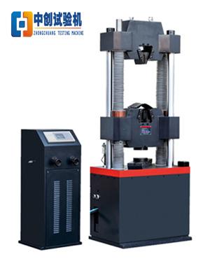 WE-600数显式液压万能试验机  橡胶件压缩强度测试 浙江