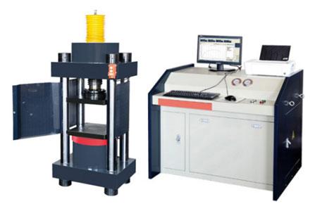 电液伺服压力试验机结构特点
